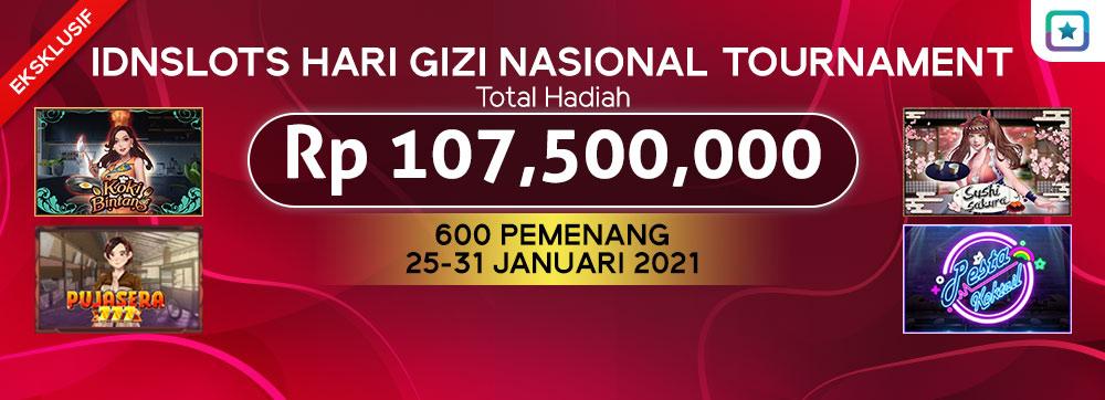 IDNSLOTS HARI GIZI NASIONAL TOURNAMENT
